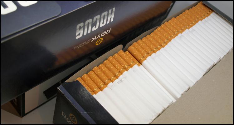 Hocus сигаретные гильзы из Польши