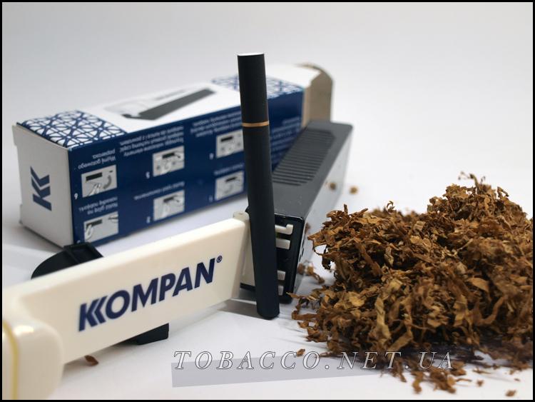 Ручная машинка для табака и сигаретных гильз KOMPAN