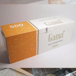 Премиум гильзы «GAMA»  - стандартные гильзы для табака