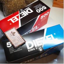 «DIEZEL» стандартные гильзы для набивки, 500 шт
