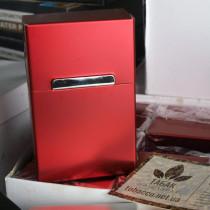 Металлический портсигар на 20 сигарет