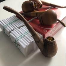Деревянная трубка для курения (Украина)