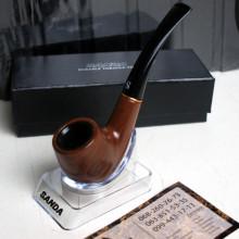 Курительная трубка из натурального дерева - презентабельная упаковка